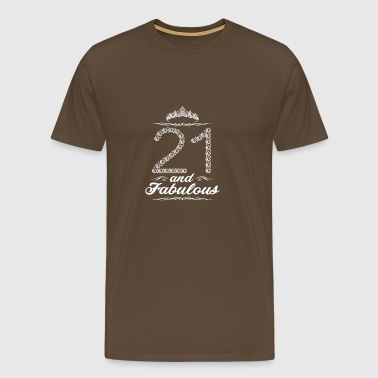 21st birthday 21 years gift - Men's Premium T-Shirt