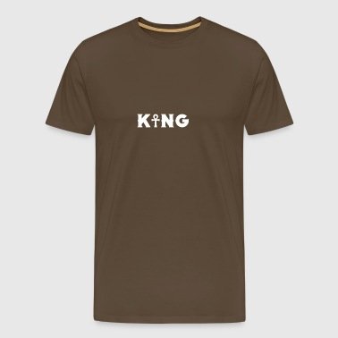 Cool Ankh King Egyptian Lovers gift - Men's Premium T-Shirt