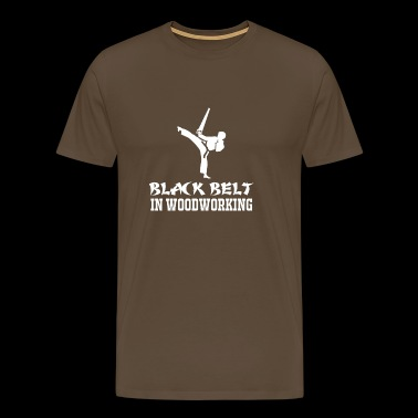 Black Belt - Carpenter - Carpenter - Gift - Men's Premium T-Shirt