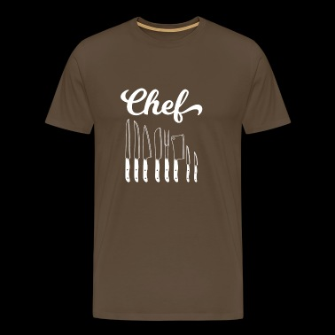 Cook - cook - cook - gift - chef - Men's Premium T-Shirt