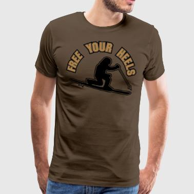 free your heels z - Men's Premium T-Shirt