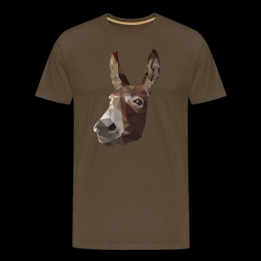 Polygon Donkey - Men's Premium T-Shirt