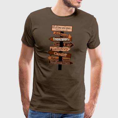 signpost - Men's Premium T-Shirt
