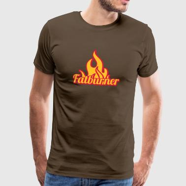 Fatburner | Training | Fitness | Fettverbrennung - T-shirt Premium Homme