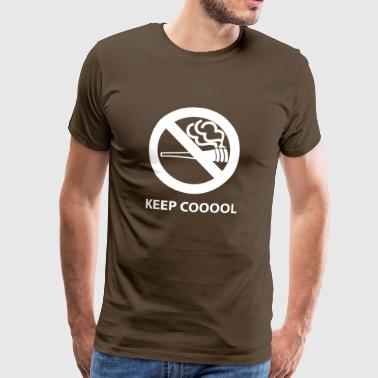 keepcooool wite - Men's Premium T-Shirt