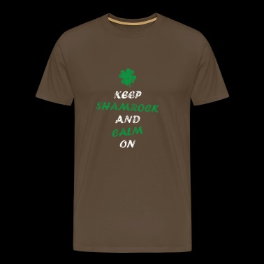 Drunk Irish jumble of words - Men's Premium T-Shirt