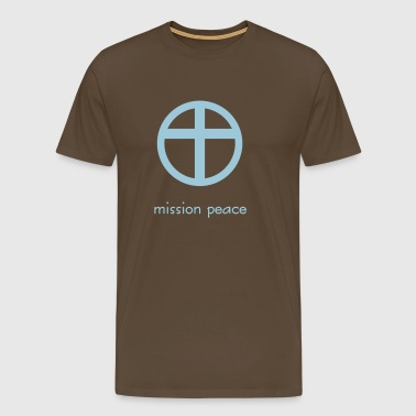 mission peace - Männer Premium T-Shirt