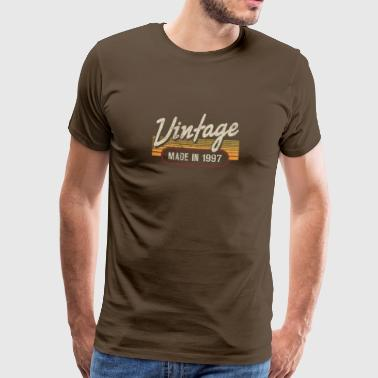 Vintage MADE IN 1997 - Männer Premium T-Shirt