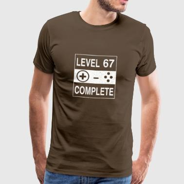 Level 67 Complete - Men's Premium T-Shirt