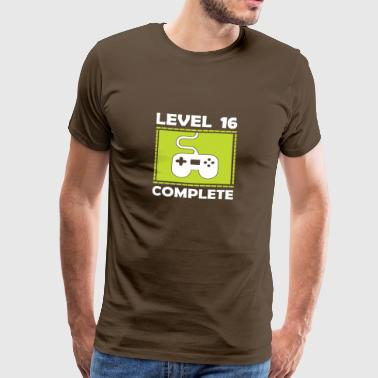 Level 16 Complete - Men's Premium T-Shirt