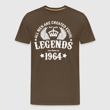 Only Legends Are Born in 1964 - Men's Premium T-Shirt