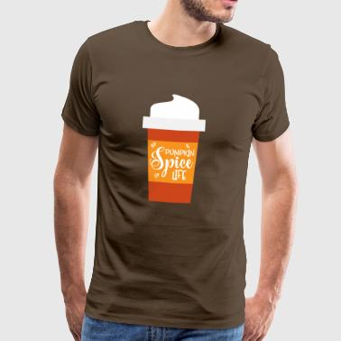 Pumpkin spice latte - Men's Premium T-Shirt