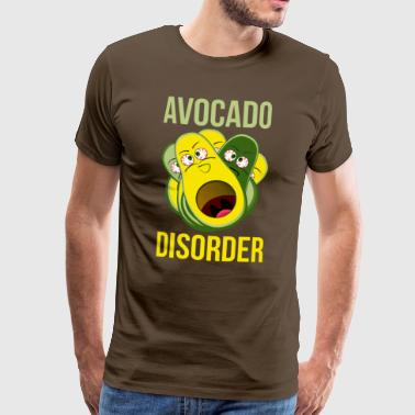 The avocado disorder - Men's Premium T-Shirt