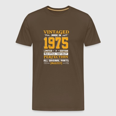 Vintaged Made In 1975 Limited Editon - Men's Premium T-Shirt