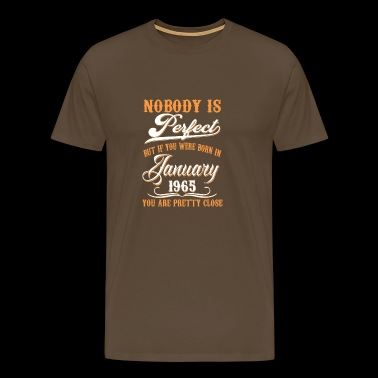 If You Born In January 1965 - Men's Premium T-Shirt