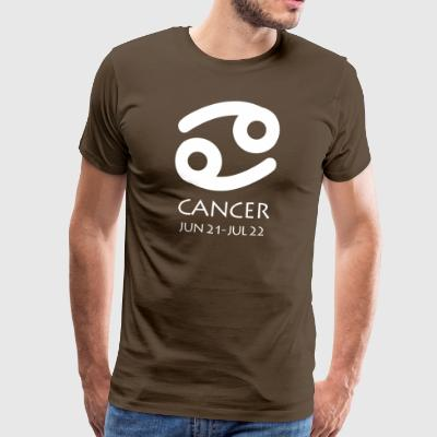 Cancer Zodiac Sign - Mannen Premium T-shirt