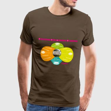Permaculture food forest - Men's Premium T-Shirt