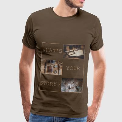 Whats your story? - Männer Premium T-Shirt
