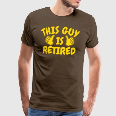 Retirement pensioner retirement pension - Men's Premium T-Shirt