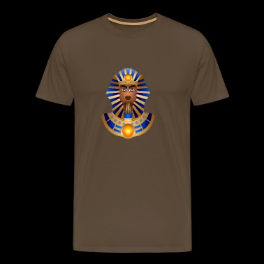 Bust of Tutankhamun - Men's Premium T-Shirt