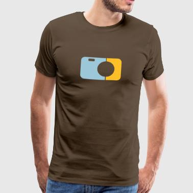 Analogue camera two-color - Men's Premium T-Shirt