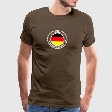 FRIDING ON THE DANUBE - Men's Premium T-Shirt