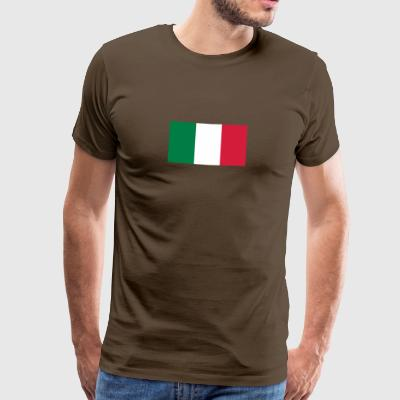 National Flag Of Mexico - Premium T-skjorte for menn