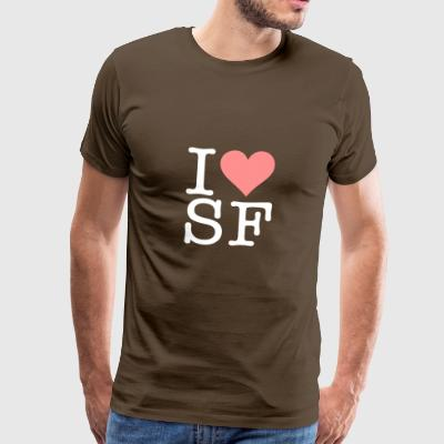 I Love San Francisco! - Men's Premium T-Shirt