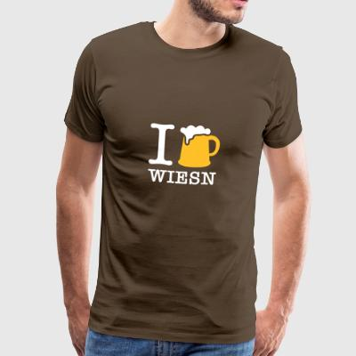 I Love The Oktoberfest - Men's Premium T-Shirt