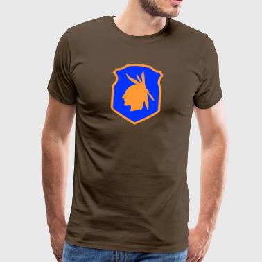 98th Infantry Division USA - Herre premium T-shirt