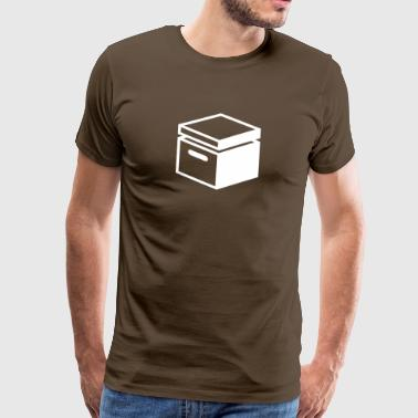 Old Fashioned Archive Folder - Men's Premium T-Shirt