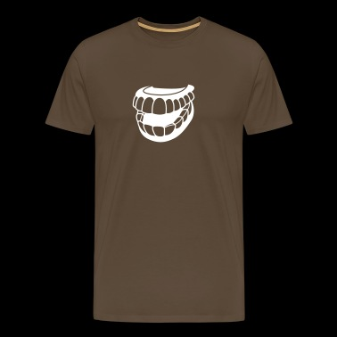 Artificial Teeth - Men's Premium T-Shirt