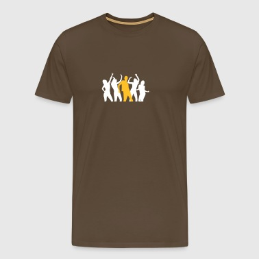 Dancing People At A Party - Men's Premium T-Shirt