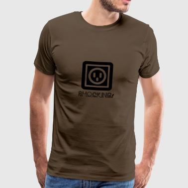 Elektriciens: Shocking! - Mannen Premium T-shirt