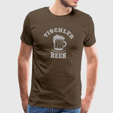 TISCHLER powered by Beer - Männer Premium T-Shirt