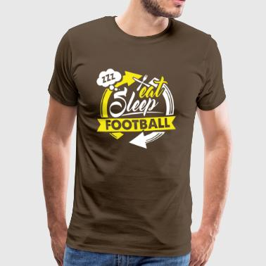 Eating - Sleeping - Soccer - Shirt Sports Gift - Men's Premium T-Shirt