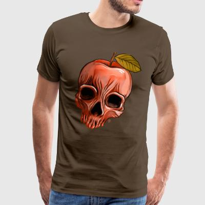 Apple Skull - Men's Premium T-Shirt