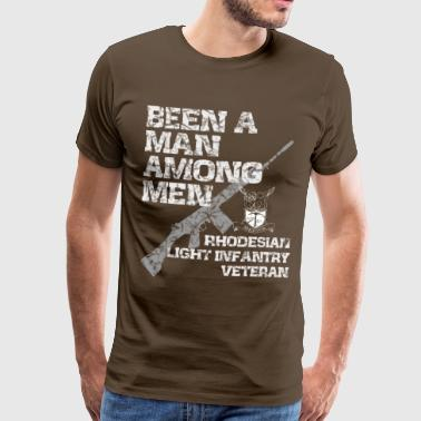 RHODESIAN LIGHT INFANTRY VETERAN - Men's Premium T-Shirt