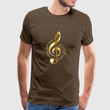 golden clef - Men's Premium T-Shirt