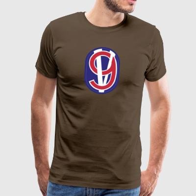 95. Training Division - Premium-T-shirt herr