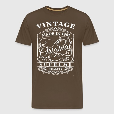 Vintage Made in 1961 Original - Men's Premium T-Shirt