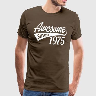 Awesome Since 1975 - Men's Premium T-Shirt
