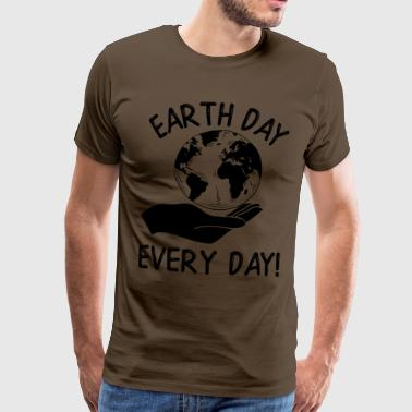 Earth Day Every Day Awareness - Männer Premium T-Shirt