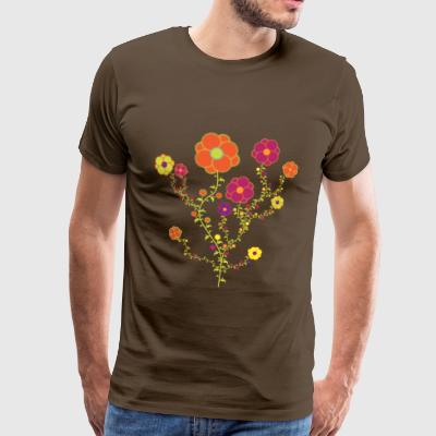 Fall Flowers - Men's Premium T-Shirt