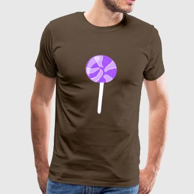 Chocolade suikergoed chocolate103 - Mannen Premium T-shirt