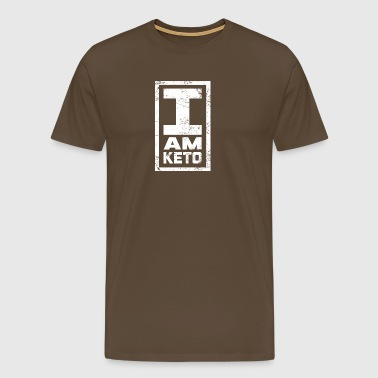 I AM KETO - Men's Premium T-Shirt