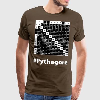 pythagore wite - T-shirt Premium Homme