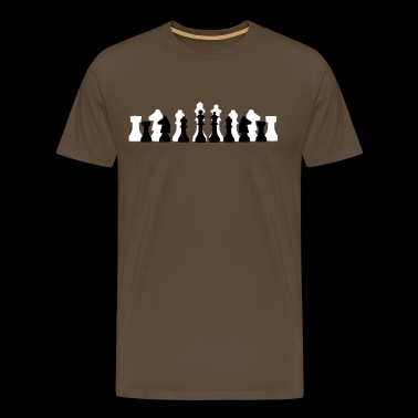 Chess - The Game of Kings - Men's Premium T-Shirt