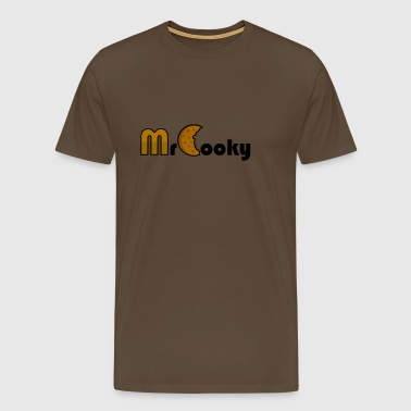 MrCooky Merch - Herre premium T-shirt
