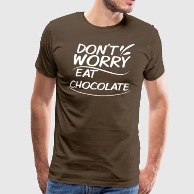 Chocolate w - Mannen Premium T-shirt